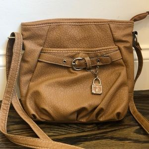 Rosetti Brown Fake Leather Purse